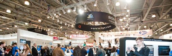 Sony во всей красе на выставке CEP Expo 2012