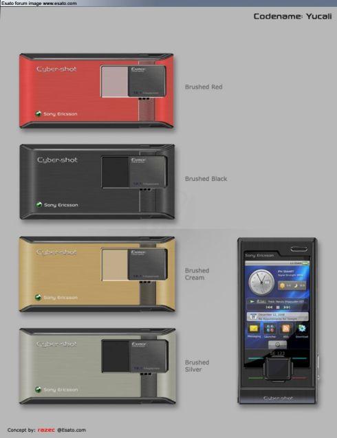 Sony Ericsson Yucali - концептуальный камерофон
