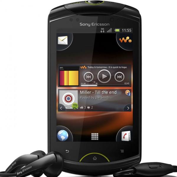 Sony Ericsson WT19i Live with Walkman Black