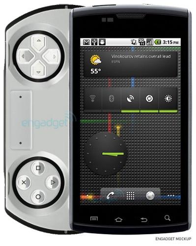 Игровой телефон Sony Ericsson PSP phone существует и выйдет в октябре