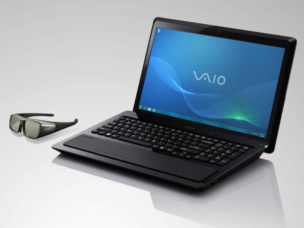 """Sony представила 16.0"""" ноутбук с 3D-экраном"""