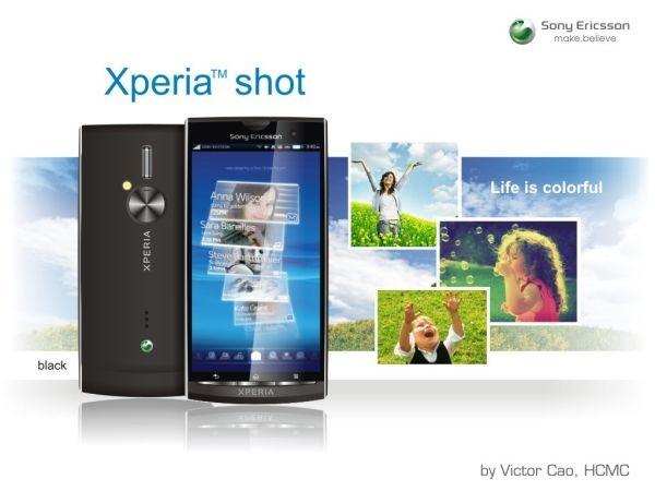 Sony Ericsson Xperia Shot: прямой наследник Satio