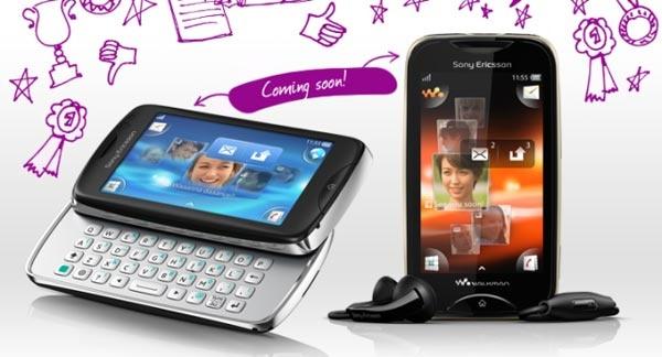 Sony Ericsson предлагает угадать названия двух бюджетных телефонов