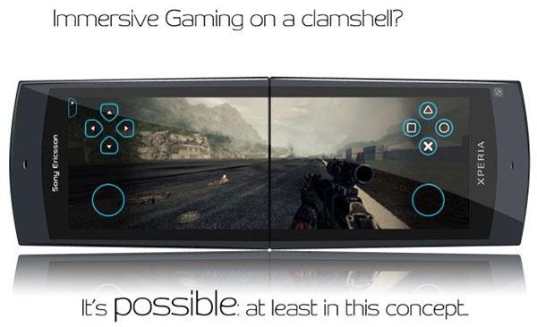 Концепт игрового смартфона Sony Ericsson Xperia Wilhelmina