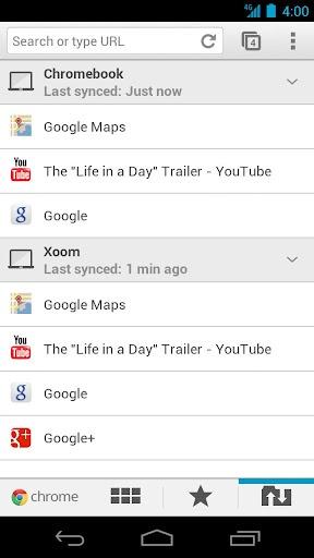Google Chrome для Android теперь на русском!