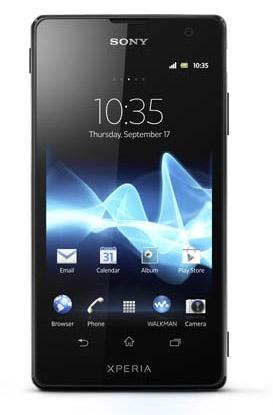 На российском рынке появился Android-смартфон под названием Sony Xperia TX