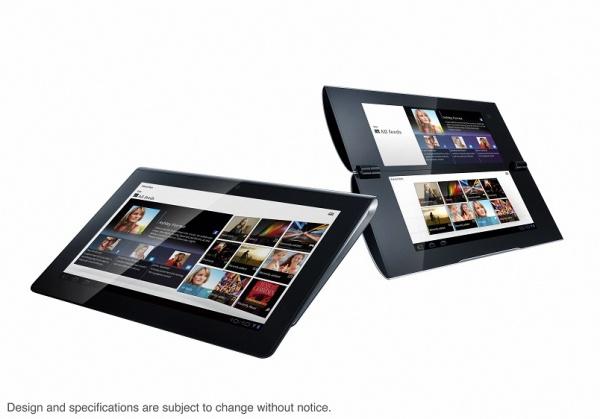 Sony представила два планшета на Android 3.0
