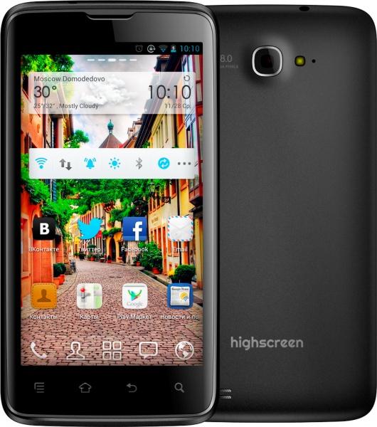 Highscreen Explosion – аналогичная, но бюджетная версия смартфона Samsung Galaxy S III для России