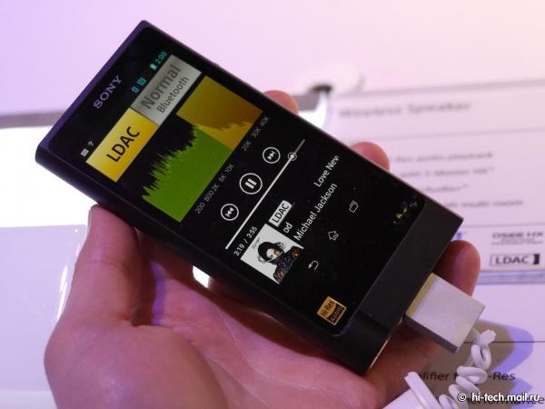 Новинка от Sony представленная на CES 2015 – свежий представитель линейки Walkman