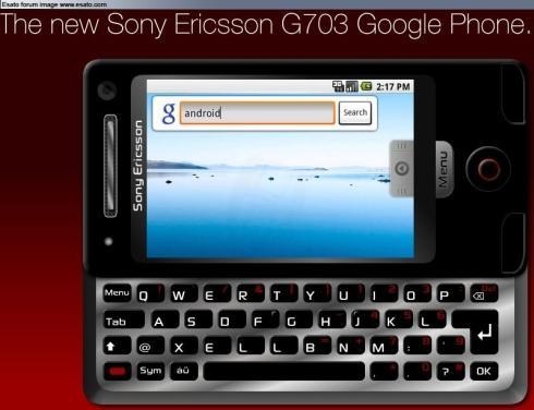 У Sony Ericsson появится Google Phone?