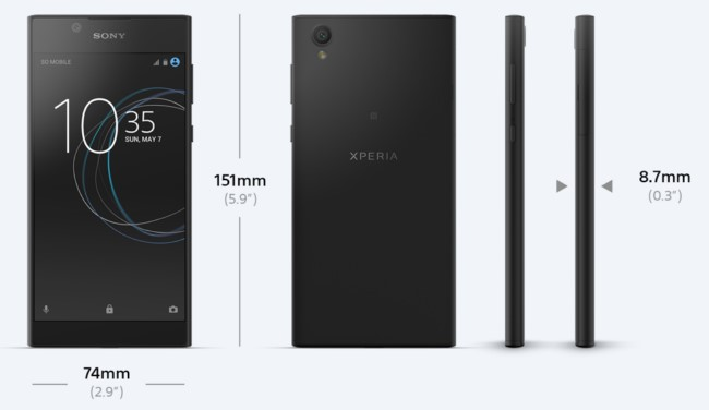 Sony Xperia L1 не стоит ожидать на рынке раньше лета 2017