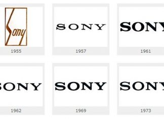 sony logos history