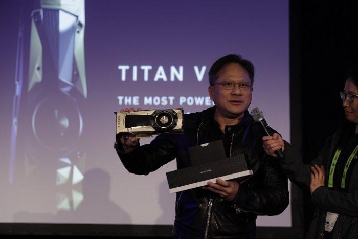nvidia titan V presentation